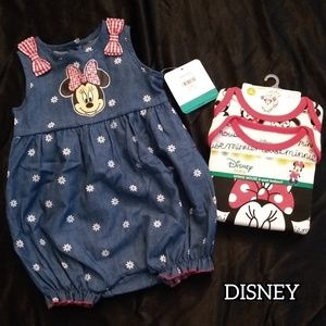 Minne Mouse Baby Girl Clothes